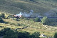 48151 passing under Mallerstang Common on the climb to Ais Gill 3 - Chris Taylor