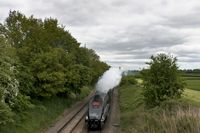 60009 approaching Prees 4 - Chris Taylor