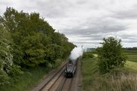 60009 approaching Prees 3 - Chris Taylor