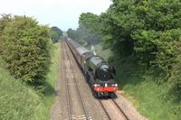 Flying Scotsman near Marbury 3 - Chris Taylor