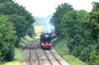 Flying Scotsman near Marbury 1 - Chris Taylor