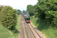 Flying Scotsman near Marbury 2 - Chris Taylor
