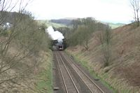 Flying Scotsman at Stainforth 1 - Chris Taylor