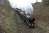 Flying Scotsman at Stainforth 2 - Chris Taylor