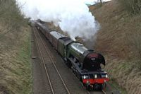Flying Scotsman at Stainforth 3 - Chris Taylor