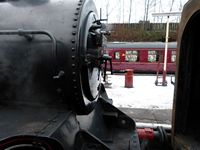 Detail of the smokebox of 80080 - Chris Taylor